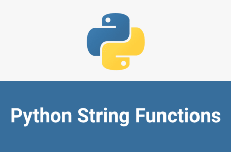String and Comments l Python